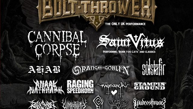 DAMNATION FESTIVAL 2014 ONE WEEK AND COUNTING!!