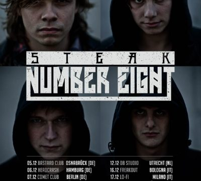 STEAK NUMBER EIGHT ANNOUNCE NEW TOUR IN DECEMBER!