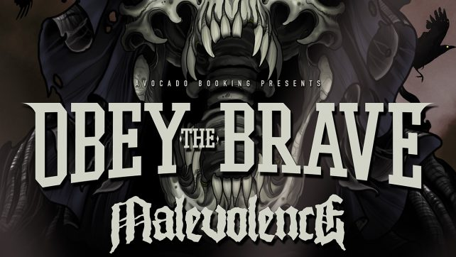 OBEY THE BRAVE ANNOUNCE EUROPEAN TOUR‏