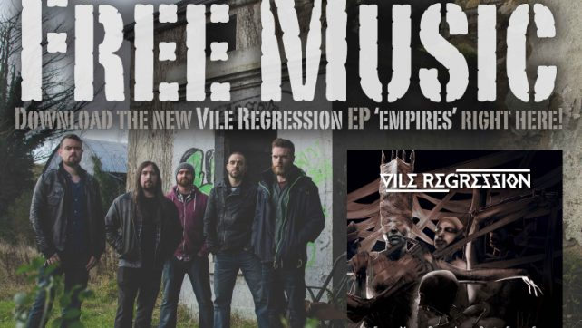 Irish Tech Metallers Vile Regression Release 'Empires'‏