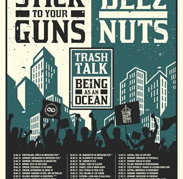 DEEZ NUTS – announce EU/UK Co-Headline Tour 2015 with Stick To Your Guns‏