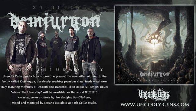 Introducing – Italian newborn death metal act Demiurgon