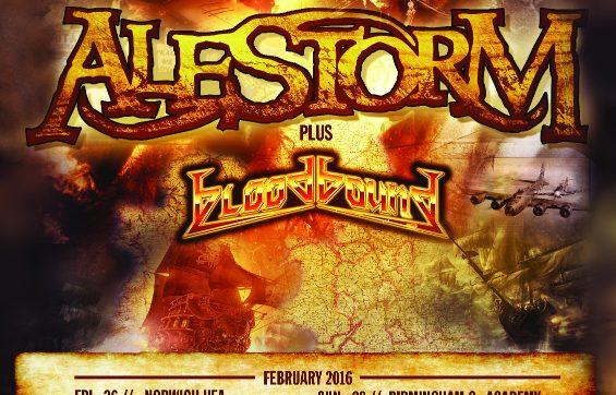 Sabaton announce co-headline UK tour with Alestorm