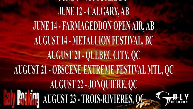 80's Thrashers AGGRESSION Reunite On Canadian C.H.U.D. Invasion Tour