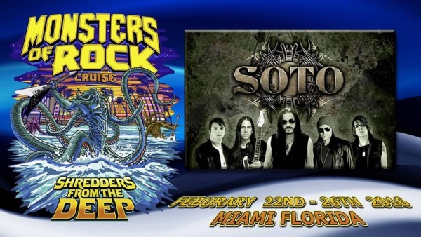 SOTO (Jeff Scott Soto) Confirmed For Monsters Of Rock Cruise‏