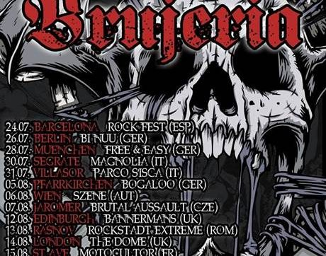 BRUJERIA Announce another UK show this August in Edinburgh‏