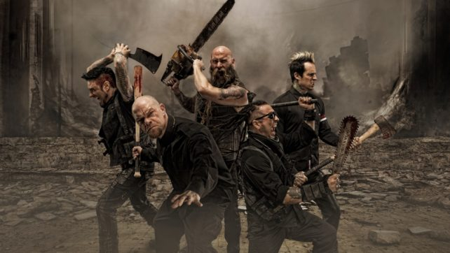 Five Finger Death Punch Punk Record Label For New Video‏