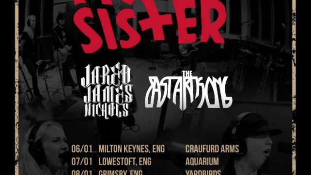 MOTOR SISTER announce first ever UK tour in January