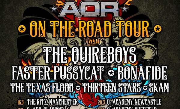 HRH AOR hits the Road