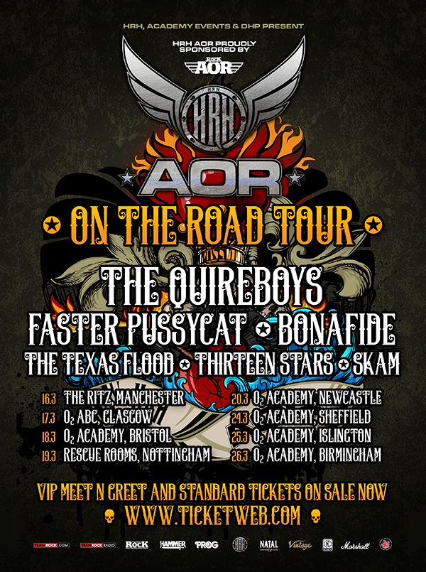 HRH AOR ON THE ROAD 2016