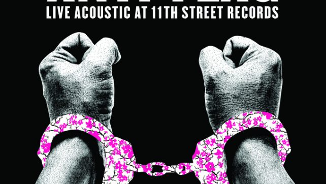 """New Release from Anti-Flag """"Live at 11th Street Records"""" On Spinefarm Records International"""