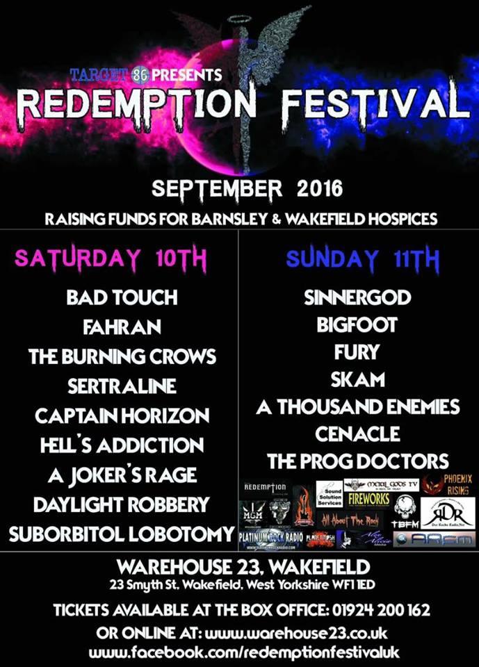 REDEMPTION FESTIVAL