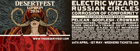 DESERTFEST LONDON: day splits and tickets are posted!‏