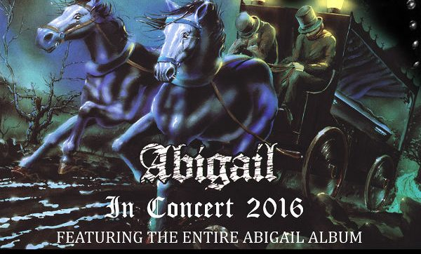 King Diamond announces Angel Witch as special guests at London show