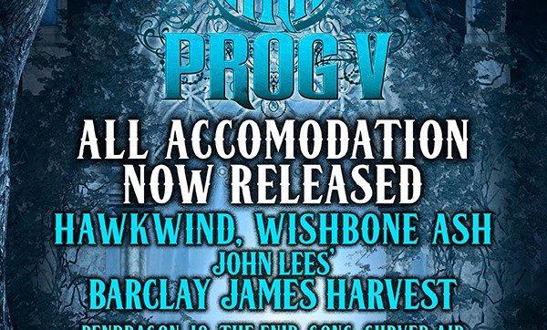 Hawkwind, Wishbone Ash, John Lees' Barclay James Harvest and Pendragon head up HRH Prog 5