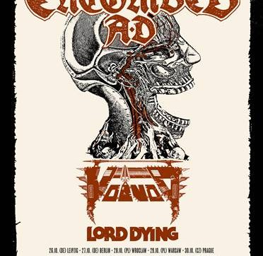 VOIVOD – Announce further European touring with Entombed A.D.‏