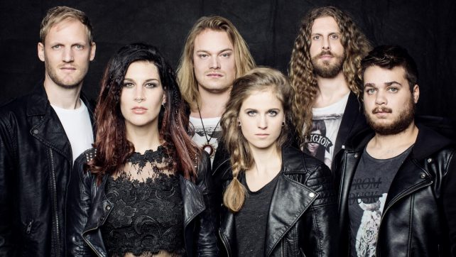 """DELAIN – Debut New Song """"Fire With Fire"""" via Loudwire! New Album Moonbathers Out August 26th on Napalm Records"""