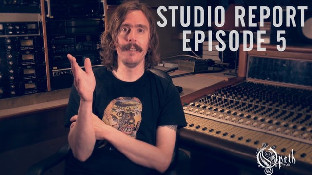 OPETH | Release 5th Studio Blog for 'Sorceress'