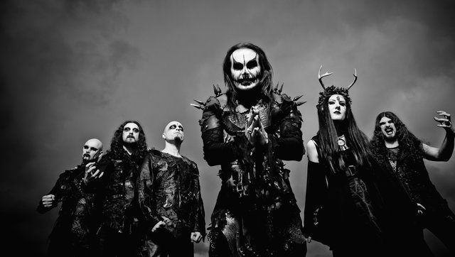 CRADLE OF FILTH Writing new material!