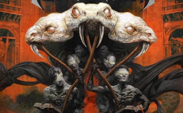 TESTAMENT Reveal 'Brotherhood Of The Snake' cover art!