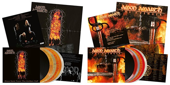 Metal Blade to re-issue the first two Amon Amarth albums 'Once Sent from the Golden Hall' and 'The Avenger' on vinyl as part of their Originals-series! Both out January, 27th!