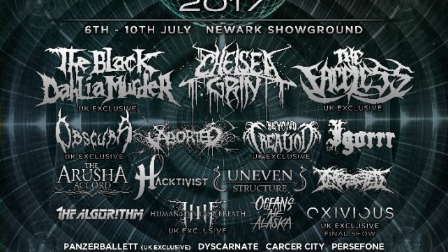 UK TECH-FEST Announces Next Batch of Bands for 2017 Festival: Chelsea Grin, The Faceless, and more confirmed