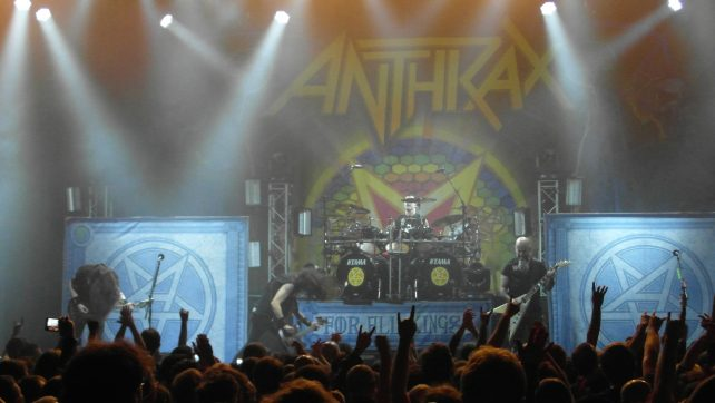 Anthrax live review @ @ UEA LCR, Norwich – 17.02.17