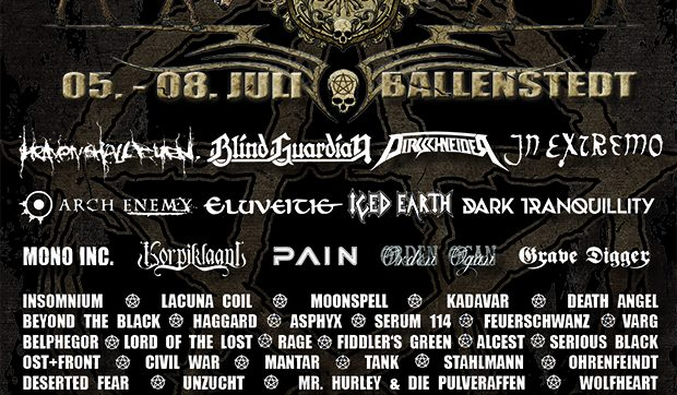 ROCKHARZ Open Air 2017: The daily allocation of bands